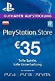 PlayStation Store Guthaben-Aufstockung 35 EUR [PS4, PS3, PS Vita PSN Code - österreichisches Konto ]