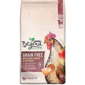 Purina Beyond Natural Dry Dog Food, Grain Free, White Meat Chicken & Egg Recipe, 23-Pound Bag, Pack of 1
