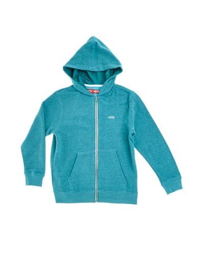 Vans B Core Basics Kinder Fleece Kapuzenpullover türkisgrün XL