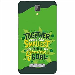 Lenovo A2010 Back Cover - Goal Designer Cases