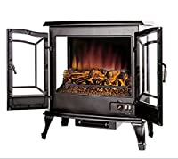 Argo Furniture Jax Infrared Freestanding Portable Compact Electric Fireplace from Argo Furniture