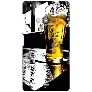Nokia Lumia 535 Beer Matte Finish Phone Cover