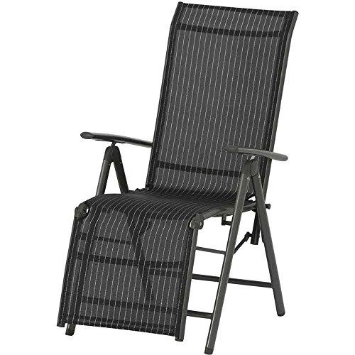 Siena-Garden-733158-Relaxsessel-Delphi-Aluminiumgestell-anthrazit-Ranotex-Textilfaser-schwarz-silber-57-x-68-x-114-cm