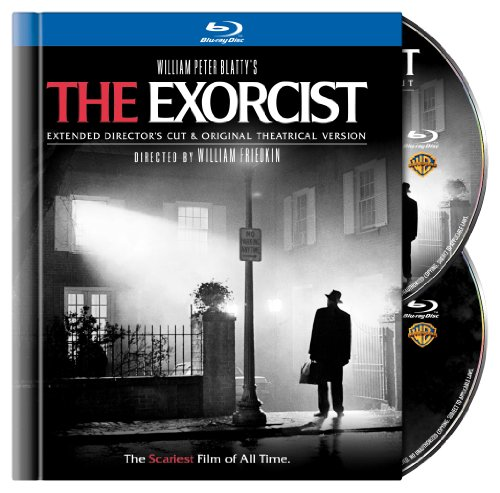 Cover art for  The Exorcist (Extended Director's Cut & Original Theatrical Edition) [Blu-ray]