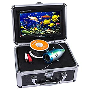 """Vanxse® Underwater Fish Camera System 7"""" TFT LCD 700tvl Hd Underwater Video Camera 15m(50ft) Cable Fish Finder"""