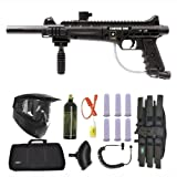 US Army Carver One Paintball Marker Gun 3Skull Sniper Set