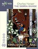 Charley Harper - the Sierra Range: 1,000 Piece Puzzle
