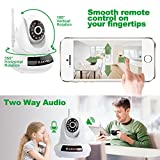 IP Camera,JOOAN 720P Network IP Camera With Two Way Audio Remote Wireless Baby Monitor With Night Vision