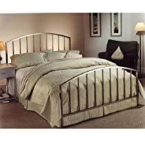 Hot Sale Hillsdale Furniture 274BKR Lincoln Park Bed, Antique Pewter