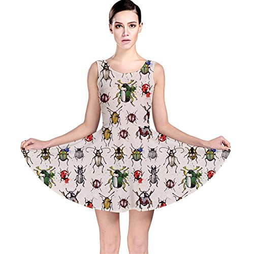 cowcow-gray-pattern-with-watercolor-beetles-skater-dress-beige-l