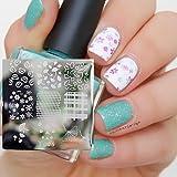 Lotus Simple Flower Pattern Nail Art Stamp Template Image Plate QA-Y025 # 22252