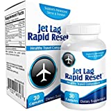 Jet Lag Rapid-Reset: Relief Supplement for Traveling