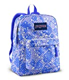 JanSport Superbreak Backpack (Purple Sky/Penelope Purple Scatter Snake)
