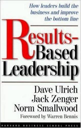 Image for Results-Based Leadership