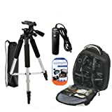 Tripod Accessory Bundle Kit For Nikon Df, D5300 D5...