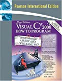 Visual C# 2008:how to program