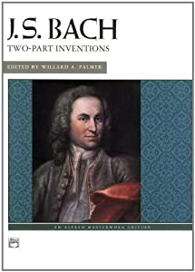 Bach -- Two-part Inventions Alfred Masterwork Editions from Alfred Publishing Company