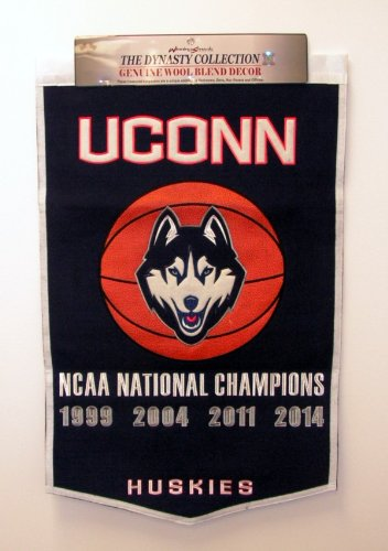 Ncaa Connecticut Huskies Basketball Banner front-961638