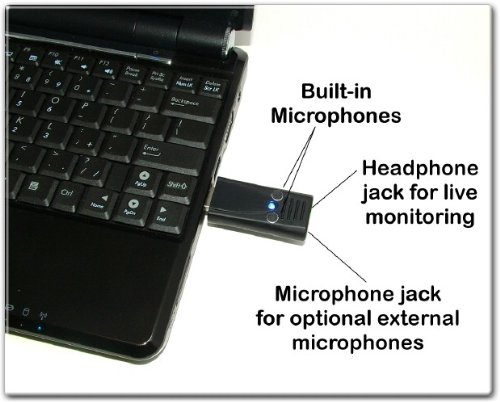 Court Reporter Ultra High Gain Stereo Usb Microphone