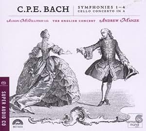 C.P.E. Bach: Symphonies Nos. 1-4; Cello Concerto in A [Hybrid SACD]
