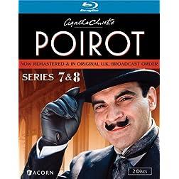Agatha Christie's Poirot: Series 7 & 8 [Blu-ray]
