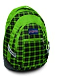 Jansport Trinity Backpacks - Hedge Green Frontier Plaid