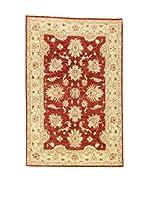 Eden Carpets Alfombra Zeigler Beige/Rojo 181 x 120 cm