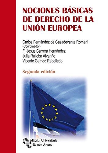 Nociones básicas de derecho de la Unión Europea (Manuales)