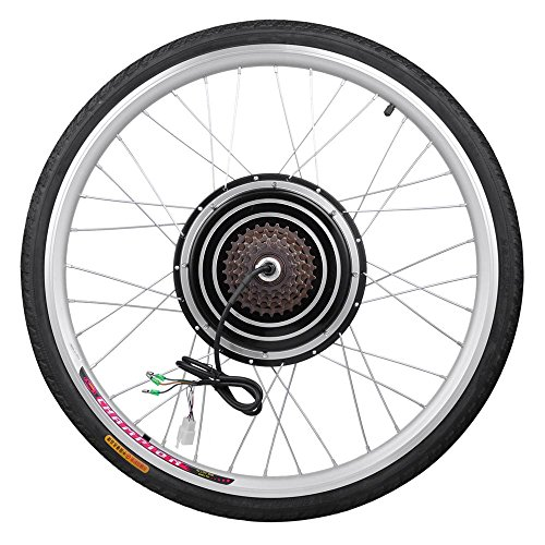 Aw 26 rear wheel 48v 1000w electric bicycle motor for Electric bike rear hub motor