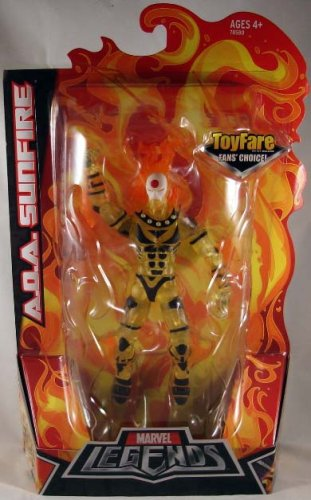 Buy Low Price Hasbro Marvel Legends ToyFare Fan's Choice Exclusive Action Figure A.O.A Sunfire (B001HTSTNI)