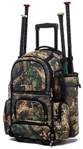 Tree Camouflage Chita CTR M Softball Baseball Bat Equipment Roller Backpack TRCACTRM by MAXOPS