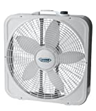 "Lasko 3743 20"" Weather-Shield Premium Plus Box Fan"
