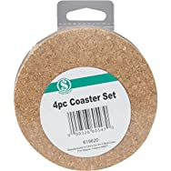 Do it Best Global Sourcing HN003 Coaster Set - Smart Savers-4PC COASTER SET