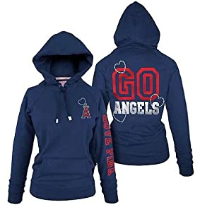 Buy Victoria's Secret Pink Bling Los Angeles Angels of Anaheim MLB Hoodie Jacket LA... by Victoria's Secret