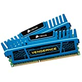 Corsair Vengeance Blue 16 GB (2x8 GB) DDR3 1600MHz (PC3 12800) Desktop Memory
