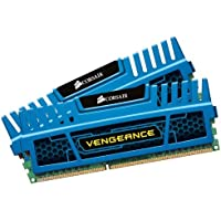 Corsair Vengeance 16GB 2x8GB DDR3 1600 MHz PC3 12800 Desktop Memory Blue