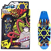 Professional Skidproof Finger Skateboard Creative Novelty Toys, Meteor