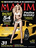 Maxim (1-year auto-renewal) [Print + Kindle]