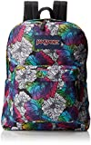 "JanSport Superbreak Backpack - Multi Ombre Floral / 16.7""H x 13""W x 8.5""D"
