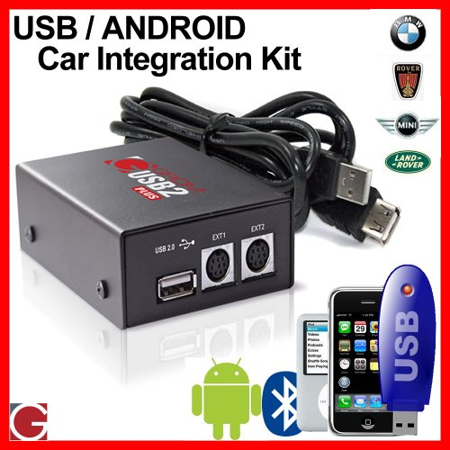 GROM Audio USB MP3/Android car stereo integration kit for Rover