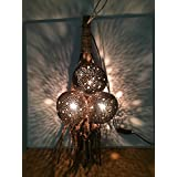Hanging Real Coconut Shell Lamps Home Decor - B017EYL13O