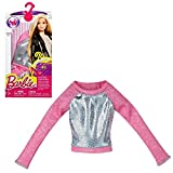 Barbie - Tendencia de la Moda para la Ropa de la Muñeca Barbie - La camisa Rosa de Plata