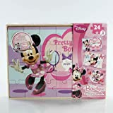 Disney Minnie Mouse Bow-tique 3 Wood Puzzles Set