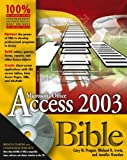 img - for Access 2003 Bible book / textbook / text book