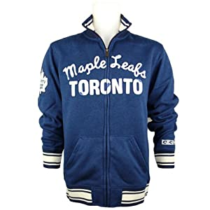 ccm toronto maple leafs classic fleece nhl track jacket xxl. Black Bedroom Furniture Sets. Home Design Ideas