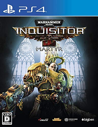 ウォーハンマー 40,000:Inquisitor - Martyr 【Amazon.co.jp限定】ビギナーズガイド インクイジターver. 付 - PS4
