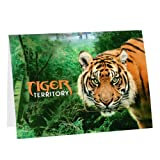 Tiger Territory Greeting Card and Magnet