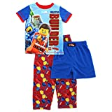 Lego Movie Boys Blue 3 pc Pajamas Set (6)