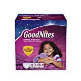 GoodNites Bedtime Pants for Girls, Small/Medium, 40 count