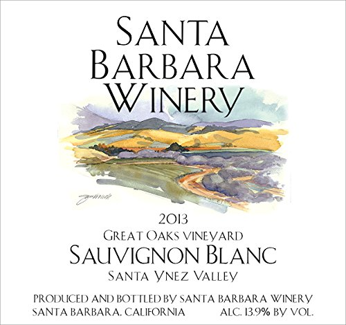 2013 Santa Barbara Winery Great Oaks Vineyard Sauvignon Blanc 750 Ml